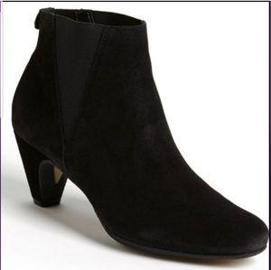 Sam Edelman Morillo black suede ankle boots